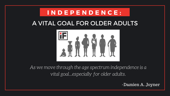 Independence: A Vital Goal For OlderAdults